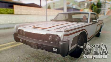 GTA 5 Vapid Chino Tunable IVF für GTA San Andreas Räder