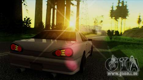 Elegy HellCat für GTA San Andreas linke Ansicht
