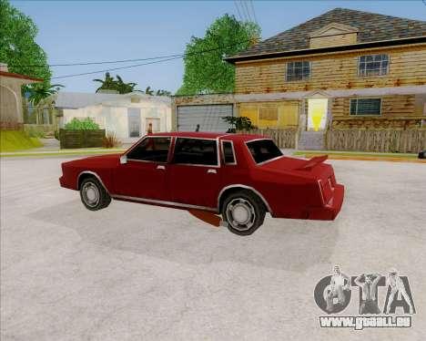 TahomaNew v1.0 für GTA San Andreas linke Ansicht