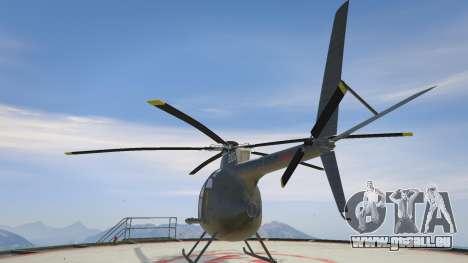 GTA 5 Hughes OH-6 Cayuse dritten Screenshot