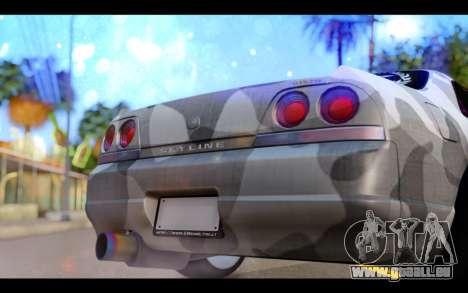 Nissan Skyline R33 Drift für GTA San Andreas Innenansicht