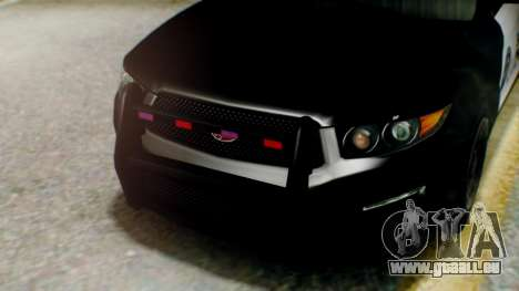 GTA 5 Police LS für GTA San Andreas Rückansicht