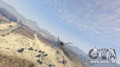 GTA 5 Northrop F-5E Tiger II FAB huitième capture d'écran