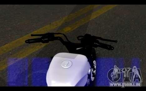 Honda CG Titan 150 Stunt Imitacion für GTA San Andreas zurück linke Ansicht