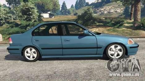 GTA 5 Honda Civic 1997 linke Seitenansicht