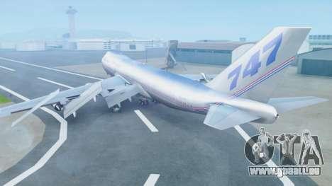 Boeing 747-400 Prototype (N401PW) pour GTA San Andreas laissé vue