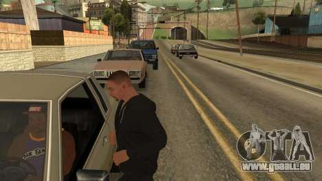Crush Car pour GTA San Andreas deuxième écran