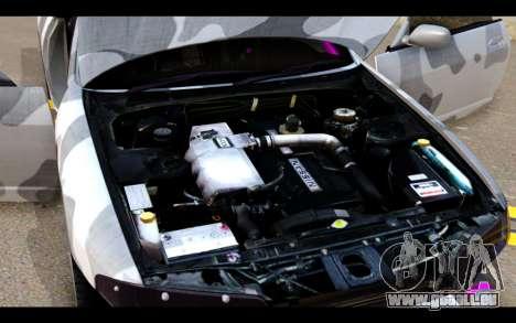 Nissan Skyline R33 Drift für GTA San Andreas obere Ansicht