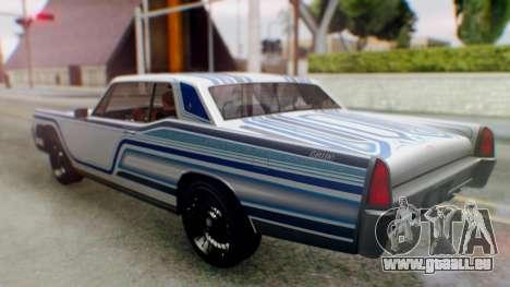 GTA 5 Vapid Chino Tunable IVF für GTA San Andreas Motor