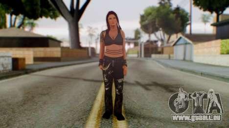 WWE Lita pour GTA San Andreas deuxième écran