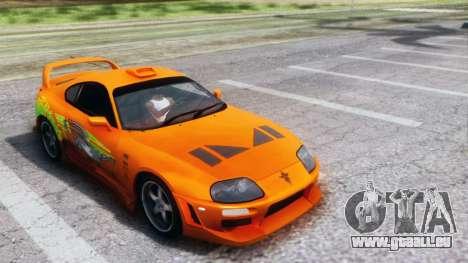 Toyota Supra TRD 1998 pour GTA San Andreas