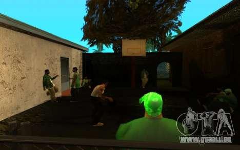 Die Wiederbelebung der Straße ganton für GTA San Andreas sechsten Screenshot