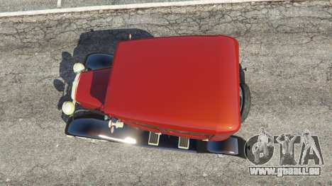 GTA 5 Ford Model A [mafia style] Rückansicht