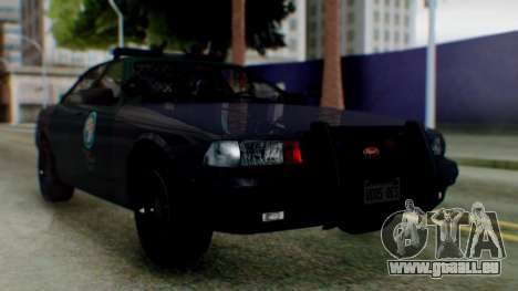GTA 5 Vapid Stanier II Police IVF pour GTA San Andreas