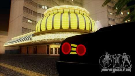 Elegy HellCat pour GTA San Andreas vue de côté