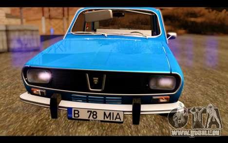 Dacia 1300 1969 für GTA San Andreas Rückansicht