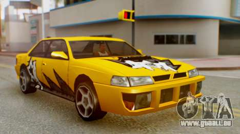 Sultan Винил из Need For Speed ProStreet für GTA San Andreas rechten Ansicht