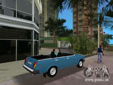 VAZ 21047 Convertible pour une vue GTA Vice City de la droite