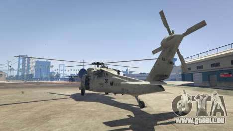 GTA 5 MH-60S Knighthawk troisième capture d'écran