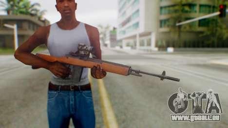 Arma2 M14 Sniper pour GTA San Andreas troisième écran
