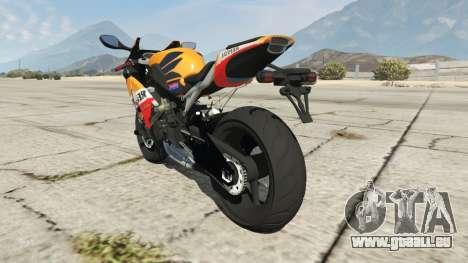 Honda CBR1000RR [Repsol] für GTA 5