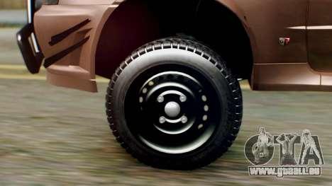 Nissan Skyline GT-R R34 RAID Spec für GTA San Andreas zurück linke Ansicht