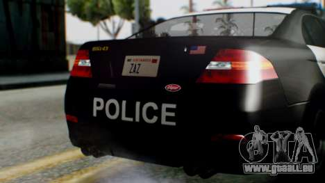 GTA 5 Police LS pour GTA San Andreas vue de côté
