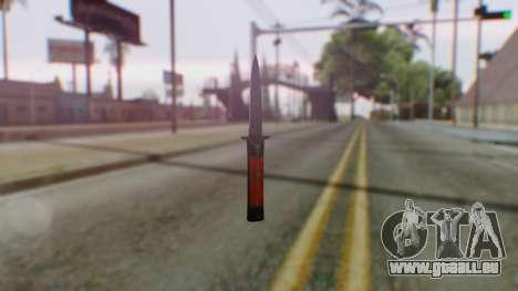 GTA 5 Bodyguard Switchblade pour GTA San Andreas
