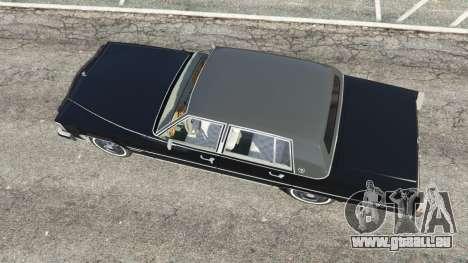 GTA 5 Cadillac Fleetwood Brougham 1985 Rückansicht