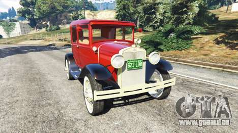 Ford Model A [mafia style] pour GTA 5