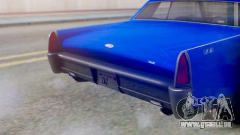 GTA 5 Vapid Chino Tunable IVF für GTA San Andreas Innenansicht
