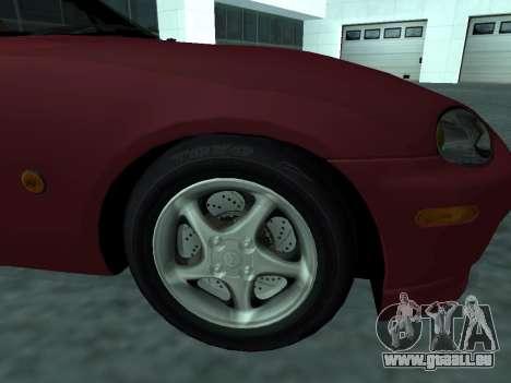 Mazda MX-5 für GTA San Andreas rechten Ansicht