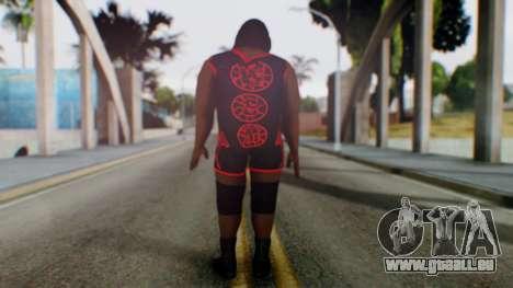 Mark He WWE pour GTA San Andreas troisième écran