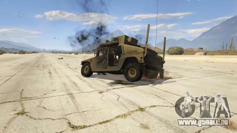 GTA 5 M1116 Humvee Up-Armored 1.1 Lenkrad