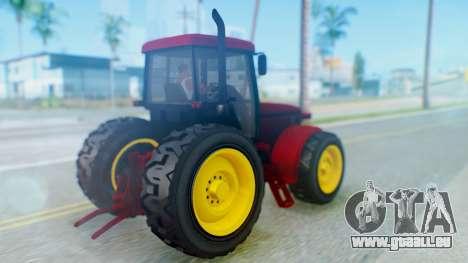 GTA 5 Stanley Fieldmaster pour GTA San Andreas laissé vue