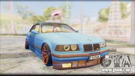 BMW M3 E36 Stanced-Hella pour GTA San Andreas