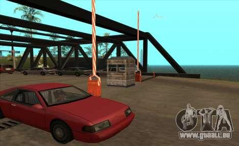Personnalisé pour GTA San Andreas troisième écran