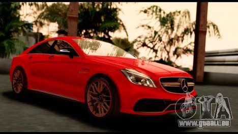 Mercedes-Benz CLS63 AMG 2015 pour GTA San Andreas
