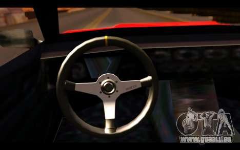 ElegyX pour GTA San Andreas vue de droite