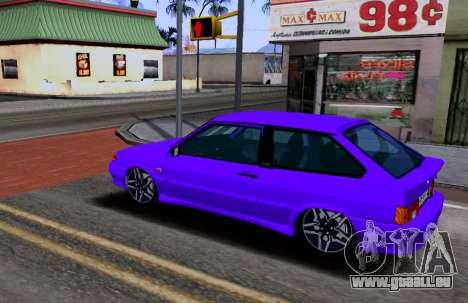 VAZ 2113 KBR pour GTA San Andreas laissé vue