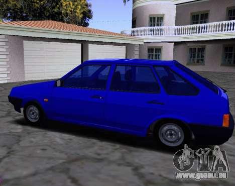 2109 KBR pour GTA San Andreas vue arrière