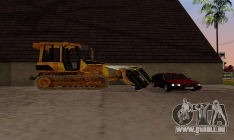 New Dozer für GTA San Andreas Rückansicht