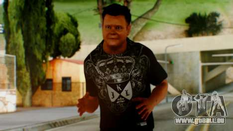 WWE Jerry Lawler pour GTA San Andreas