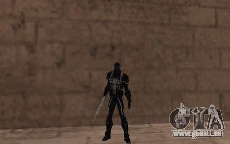 Agent Venom durch Robinosuke für GTA San Andreas dritten Screenshot