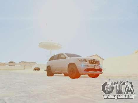 Jeep Grand Cherokee SRT8 2013 Tuning pour GTA San Andreas vue de droite