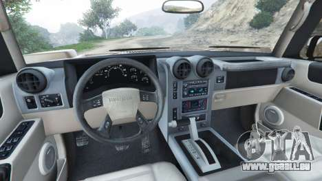 Hummer H2 2005 [tinted] pour GTA 5