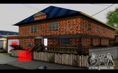 New CJ House für GTA San Andreas zweiten Screenshot