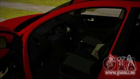 Renault Megane Ukrainian Stance für GTA San Andreas Innenansicht