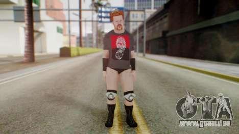 Sheamus 1 pour GTA San Andreas deuxième écran