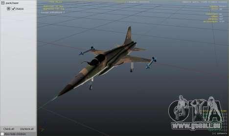 GTA 5 Northrop F-5E Tiger II FAB neuvième capture d'écran